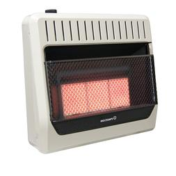 ProCom Dual Fuel Vent Free Infrared Gas Wall Heater, 30,000
